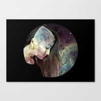 psychology Canvas Prints featuring Psychology Of Stylistic Change by mofart photomontages
