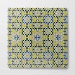 Flower of Life Pattern 28 Metal Print