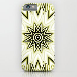 Yellow Boho Sunflower Daisy Blossoms iPhone Case