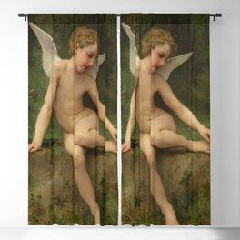 """William-Adolphe Bouguereau """"L'amour à l'épine"""" Blackout Curtain"""