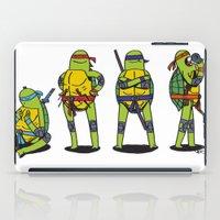 teenage mutant ninja turtles iPad Cases featuring Teenage mutant ninja turtles by Nioko