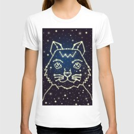 Cat and Stars T-shirt