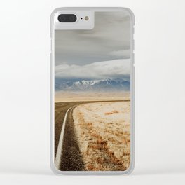 Great Sand Dunes National Park - Road Clear iPhone Case