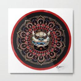 guardian lion Metal Print