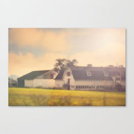 Morning At The Dairy Canvas Print