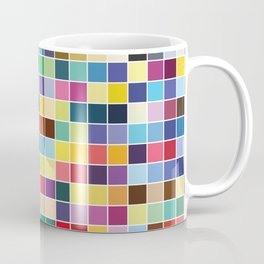 Pantone Color Palette - Pattern Coffee Mug