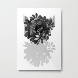 Sadly, there are no parachutes for plants. Metal Print