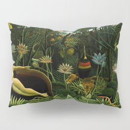 Henri Rousseau The Dream Painting Pillow Sham