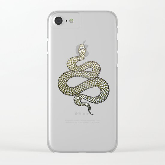 Snake's Charm Clear iPhone Case