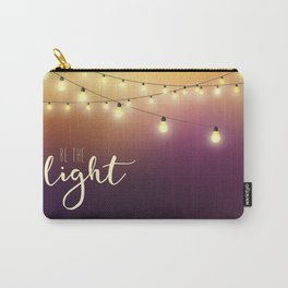 Be the light Carry-All Pouch