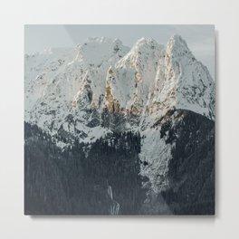 Mountain ridge Metal Print