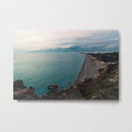 View over Antalya Metal Print