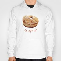 doughnut Hoodies featuring Doughnut by lumvina