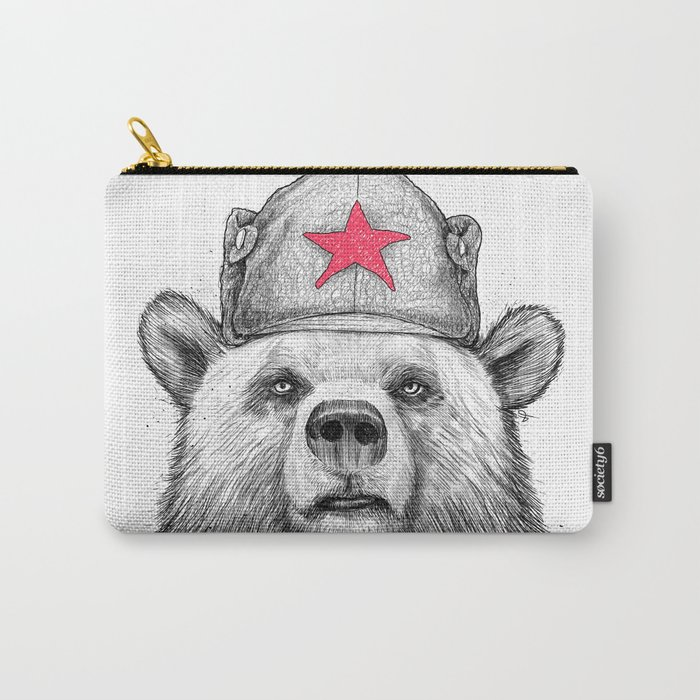 russian bear Carry-All Pouch