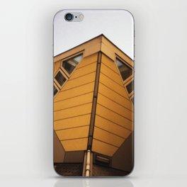 Cube houses iPhone Skin