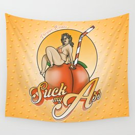 SUCK MY ASS Wall Tapestry