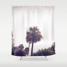 palm::charleston Shower Curtain