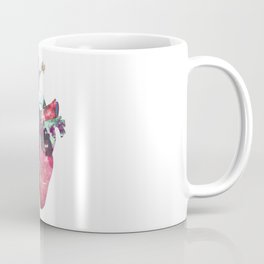 Superstar Heart (on grey) Coffee Mug