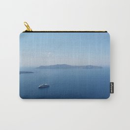 Blue greece Carry-All Pouch