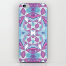 Purple mint iPhone & iPod Skin