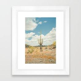 Old West Arizona Framed Art Print