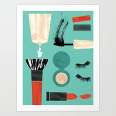Beauty Tools of the Trade Art Print