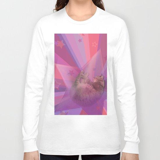 Kitty Cat Star Long Sleeve T-shirt