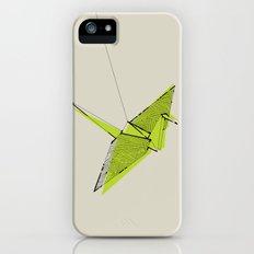 Paper Crane iPhone (5, 5s) Slim Case
