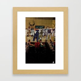 fabric softener Framed Art Print