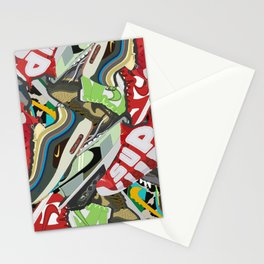 All hype sneakers Stationery Cards