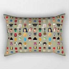 SuperHeroes Rectangular Pillow