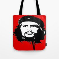 che Tote Bags featuring CHE by favewavearts