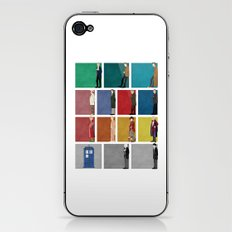 Doctor Who? iPhone & iPod Skin