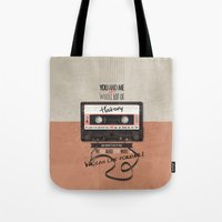 history Tote Bags featuring History by Art of Nanas