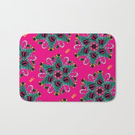 pop pattern_christmas Bath Mat