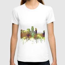 Corpus Christie, Texas Skyline SG - Safari Buff T-shirt