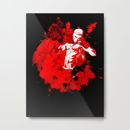 Punch-Out Metal Print