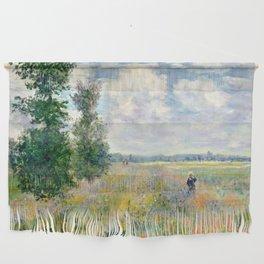 Poppy Fields near Argenteuil by Claude Monet Wall Hanging