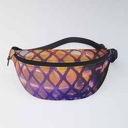 Square Fire Fanny Pack