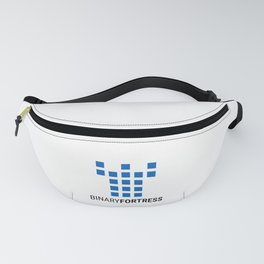 Binary Fortress Software (blue logo) Fanny Pack