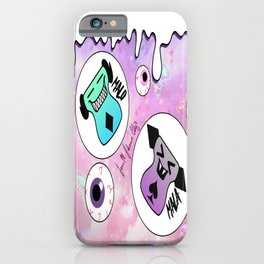 Malo and Mala in Space iPhone Case