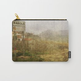 Barolo vineyards, Piedmont, Italy Carry-All Pouch