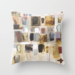 Large Talk Throw Pillow