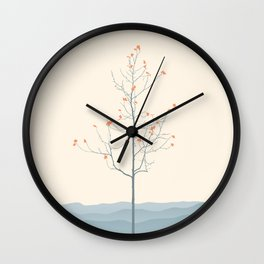 Twig Tree - Serenity Wall Clock