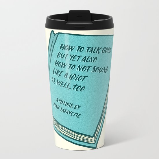 Memoir Metal Travel Mug