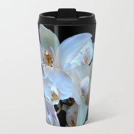 A White Orchid Wedding Travel Mug
