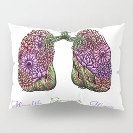 Plant Lungs Pillow Sham