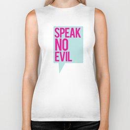 Speak No Evil Biker Tank
