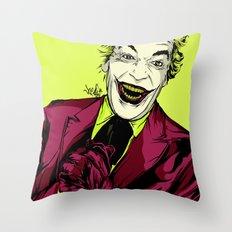 Joker On You 2 Throw Pillow