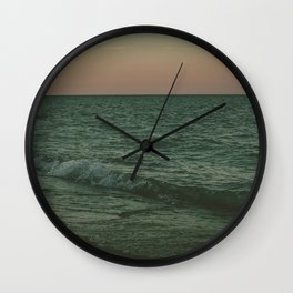 Disappear Into The Deep Wall Clock